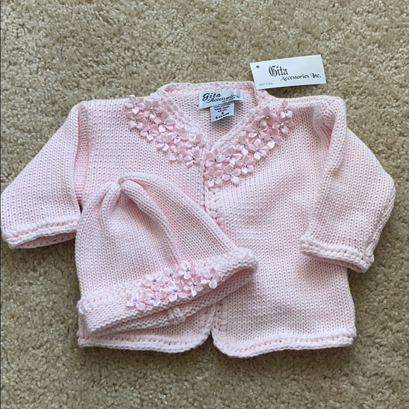 Gita Accessories Sweater & Hat Set